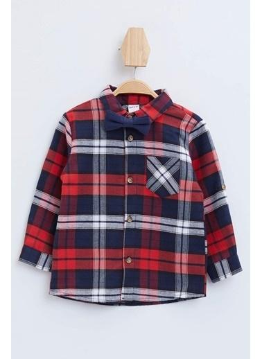 DeFacto Erkek Bebek Papyonlu Gömlek Kırmızı